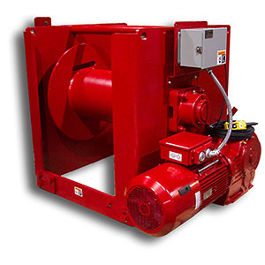 WS Series power Winches/for over 6 tons