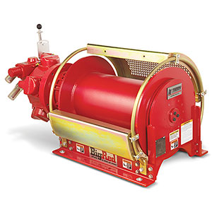 big red legacy series air winches