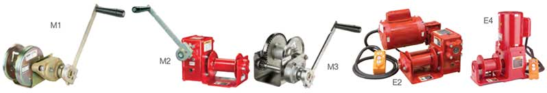 5PT20 Winch Options